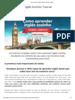 Como Aprender Inglês Sozinho _ Tutorial Completo