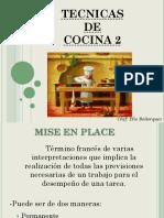 Tecnicas de Cocina 2