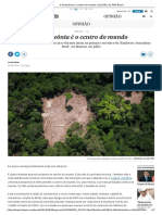 A Amazônia é o centro do Mundo - Eliane Brum