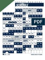 Mariners 2020 Schedule