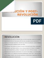 Revolución y postrevolucion