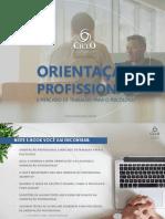 Orientação Profissional E O Mercado de Trabalho CicloCEAP Material Gratuito
