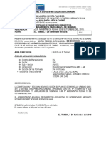 INFORME N° 510 - R3-A PARAMETROS