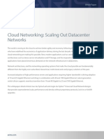 Cloud Networking Scaling Out Data Center Networks