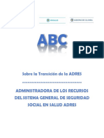 ABC Transición Adres
