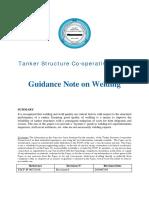 Guidance Note on Welding
