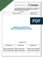 CORPAC MD GO EL 001 Memoria Descriptiva Electrica
