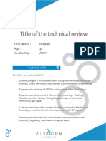 Technical Review