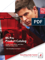 RS Pro Product Catalog (NA) [2017] {25037_RS_PRO_80pp}