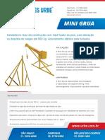 Catalogo Digital Mini Grua v2018