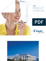 Pilot Product Catalogue 2019 {Document}