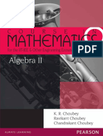 Algebra 2 Course in Mathematics for the IIT-JEE and Other Engineering Exams