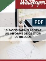 Elaboracion Informe Gestion Riesgos