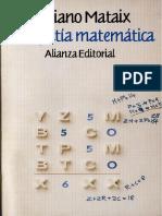 Mariano Mataix - Ludopatía Matemática
