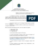 RESOLUÇÃO N° 210-06- Estabelece os limites de pesos e dimensões