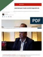 g1 Globo Com Mundo Noticia 2019-08-12 Novo Presidente Da Gua