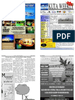 "Kuta Weekly-Edition 207 ""Bali""s Premier Weekly Newspaper"""