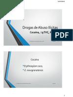 Drogas de Abuso Ilícitas