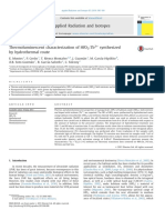 Thermoluminescent Characterization of HfO2Tb3 Synthesized by Hidrothermal Route (1)