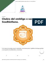 Chakra del ombligo. Significado segundo chakra y ver si esta equilibrado.pdf