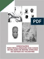 Orientação para Regularização das Casas de Religião de Matriz Africana de Tocantins.pdf