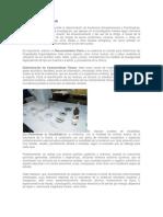 EXPERTICIAS TOXICOLOGICAS