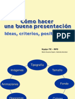 como hacer una buena presentacion