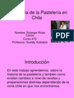 LA HISTORIA DE LA PASTELERIA EN CHILE