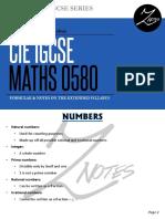 Mathematics (Extended) Flashcards