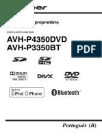 Avh p3350bt Avh p4350dvd