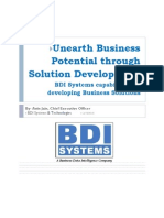 BDI Systems -Solution Development Capabilities