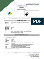 Acido Orto Fosforico