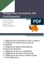 Obligaciones Accesorias Del Contribuyente (1)