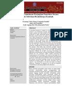 jurnal tentang akibat hukum pemutusan sepihak.docx