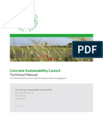 Technical Manual - Concrete Sustainability Council Certification Manual 2.0 (Recycled Aggregate)_20190607