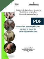 MANUAL Buenas Prácticas de Faena (1)