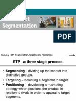 STP Market Segmentation