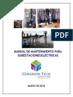 Manual de Mantenimiento Para Subestaciones Convertido 1