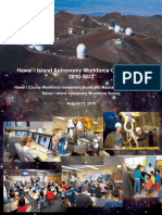 Hawaii Island Astronomy Workforce Opportunities Report for 2010-2023