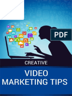 Creative Video Marketing Tips
