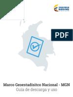 Marco Geoestadistico Nacional