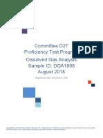 DGA-1808- Round Robin Test -2018