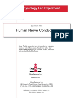 Human Nerve Conduction