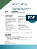 Curso Intensivo Diagnostico Trastornos Mentales y DSM5