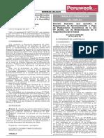 Decreto Supremo N° 013-2019-TR (Peruweek.pe)