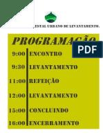 PROGRAMAÇÃO - Levantamento, Rua Do Couto, Penha Verde.