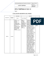 ALERTA TEMPRANA 29-19 MUNICIPIOS ARAUQUITA, SARAVENA, FORTUL Y TAME - ARAUCA