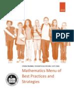 mejores practicas matematicas