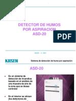 Sistema Deteccion de Humos Por Aspiracion Asd20
