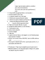 Lista de Utiles 1er.